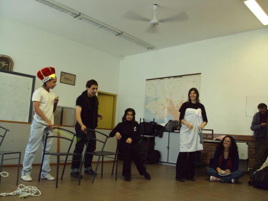Teatro Espontáneo para la prevención del acoso y el hostigamiento.