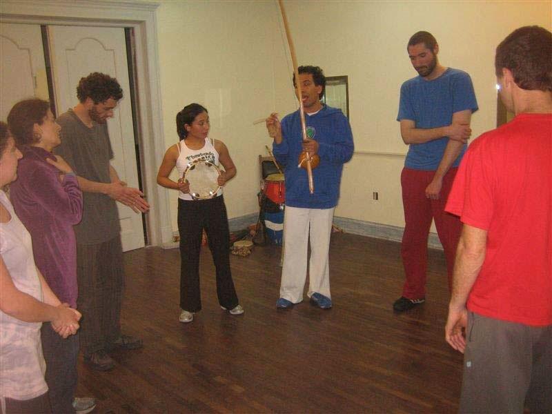Taller de Capoeira e Improvisación
