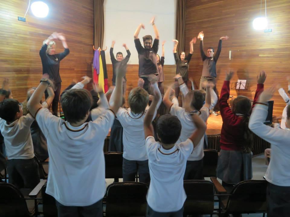 Juntos y Diferentes en el Colegio Alemán, mayo 2015