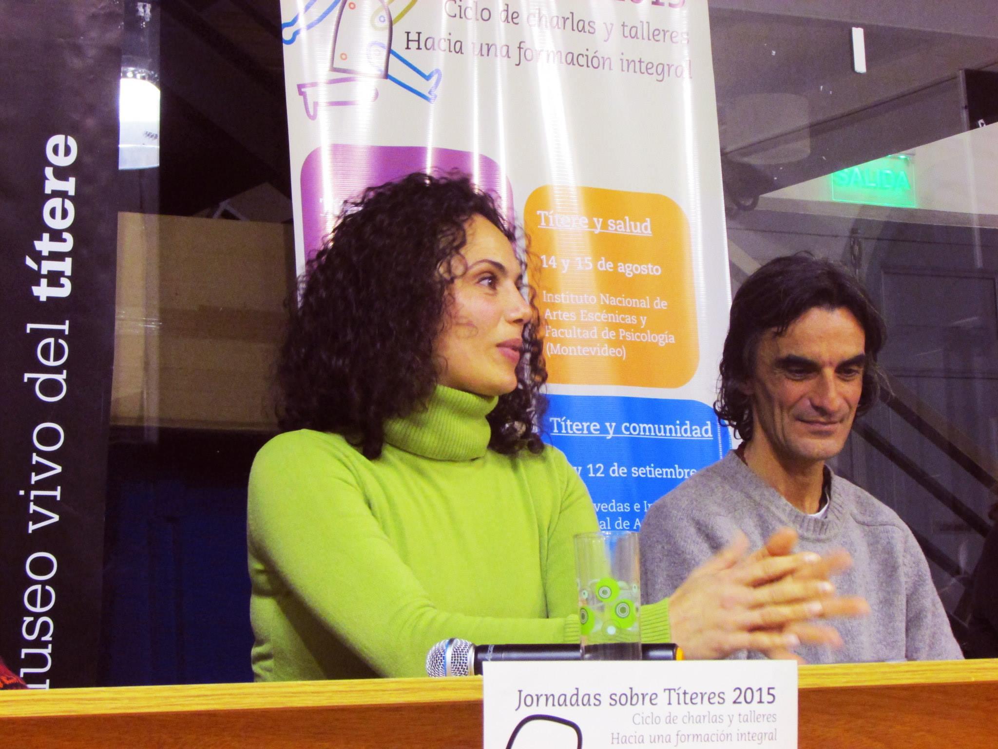 Participamos en las Jornadas sobre Títeres julio 2015