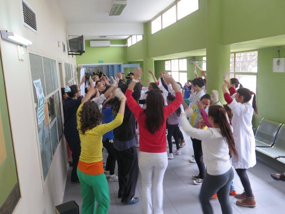 Danza en el Pereira Rossell, octubre 2015