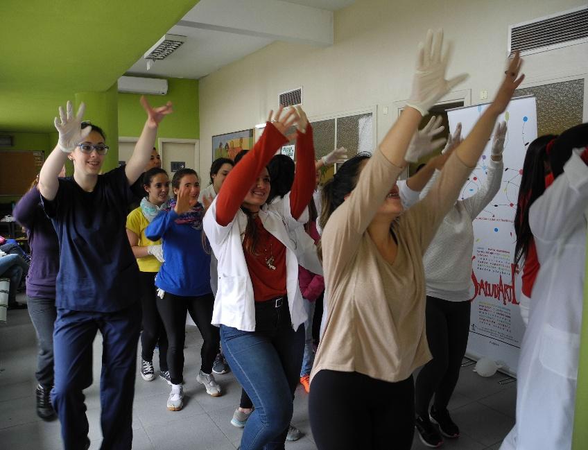 SaludArte: una explosión de danza y alegría en el Hospital Pereira Rossell