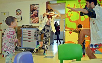 Juego y alegría en Pediatría